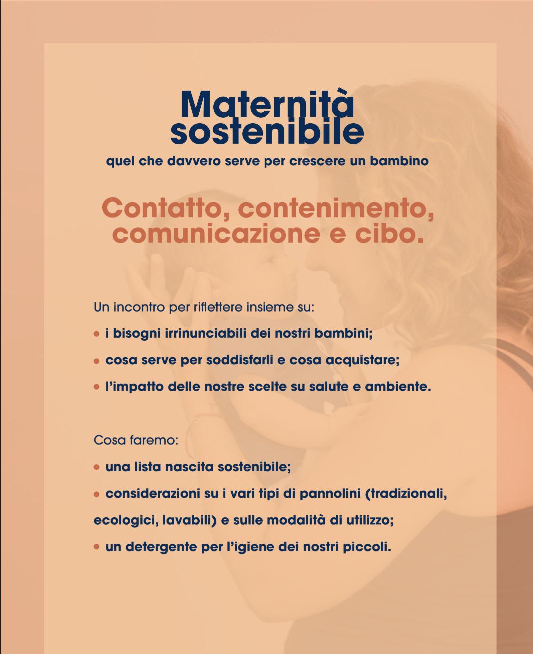 Maternità  sostenibile